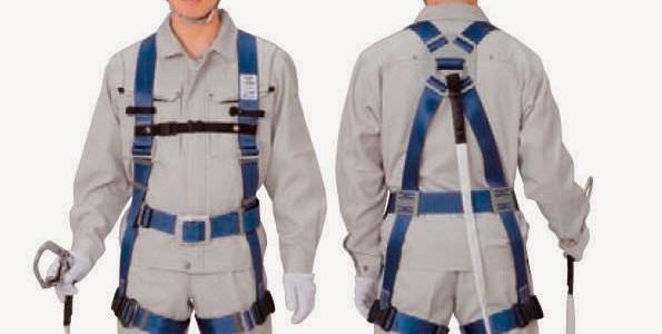 Persiapan dan pemakaian body harness