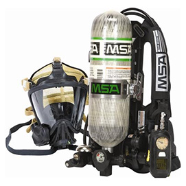SCBA ( SELF CONTAIN BREATHING APPARATUS )