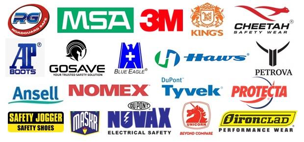 Brand unggulan di Rian Jaya Safety