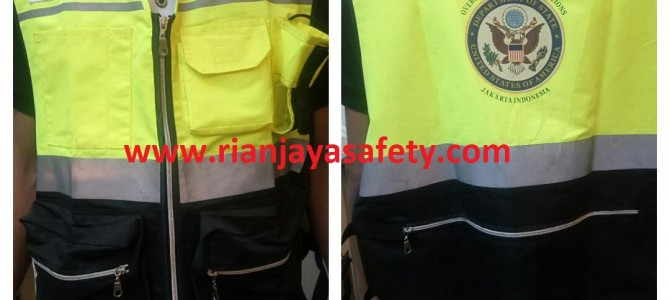 Custom Safety Vest / Rompi Safety di Bogor