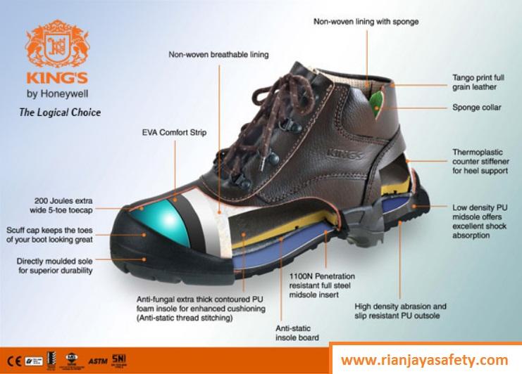 Jual sepatu safety harga terbaik