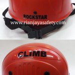jual helm safety climb rockstar