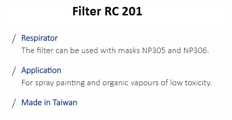 FILTER RC 201 1