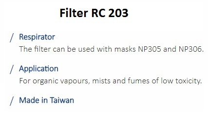 FILTER RC 203 1