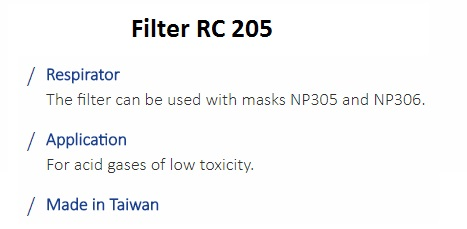 FILTER RC 205 1