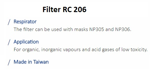 FILTER RC 206 1