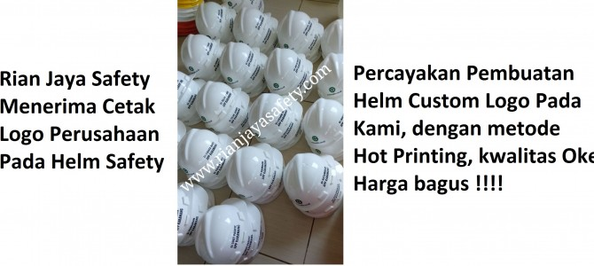 Custom Made Helm Safety By Rian Jaya Safety