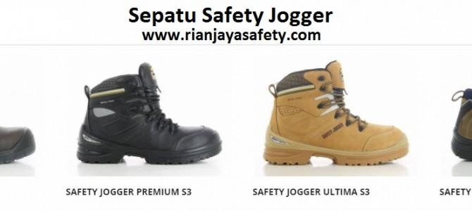 Jual sepatu safety jogger