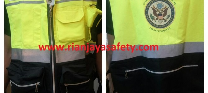 Custom Safety Vest / Rompi Safety di Medan