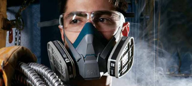 Jual masker respirator 3m 6000