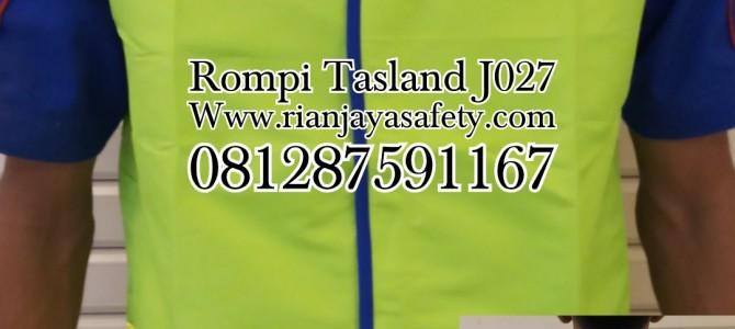 Rompi safety bahan tasland J027