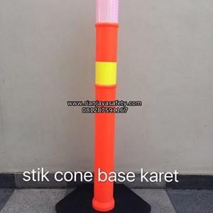 Jual Stick cone pembatas jalan dan pembatas antrian