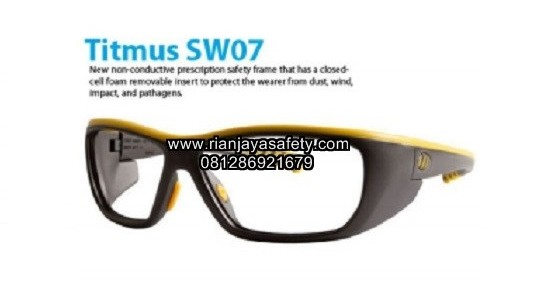 Kacamata safety minus Uvex Titmus SW07