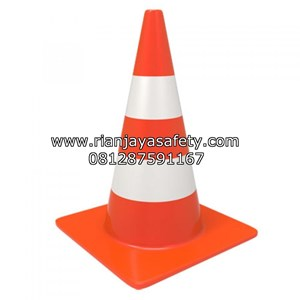 TRAFFIC CONE SAFELINE BASE ORANGE