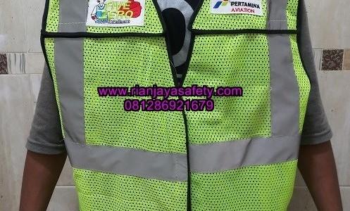 Jasa pembuatan rompi safety safety vest murah