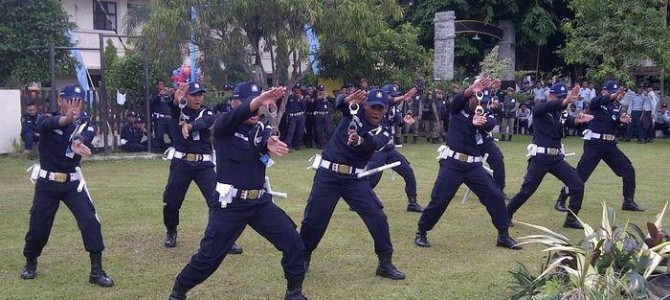 Jual pakaian seragam security satpam PDH PDL SAFARI Timika