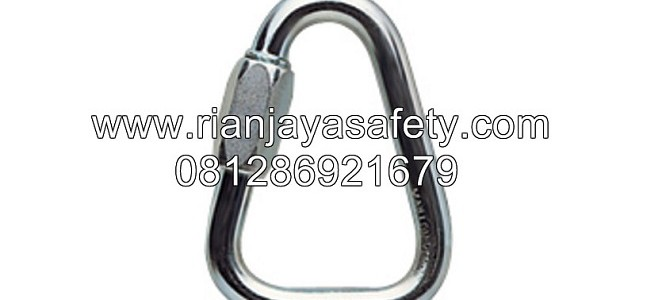 JUALPETZL DELTA NO 8 SCREW LINK CARABINER