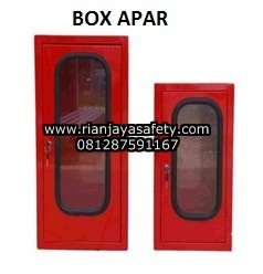 Jual box apar aluminium merah