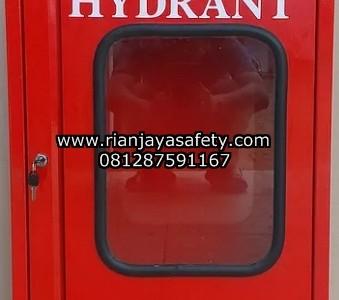 Jual box hydrant indoor pintu kaca