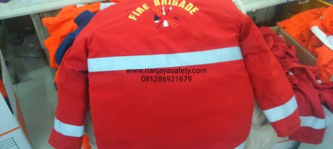 seragam fire brigade nomex iiia dupont asli di jakarta