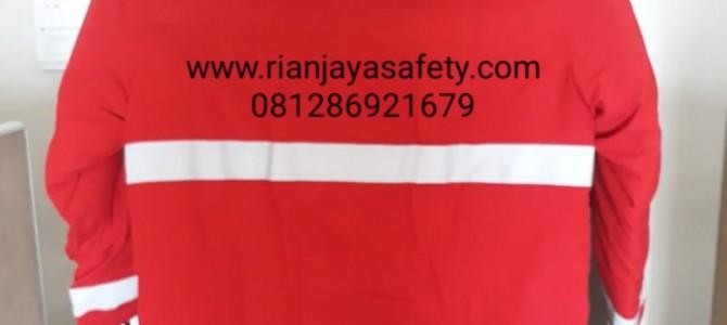 terima pembuatan baju pemadam kebakaran custom logo perusahaan