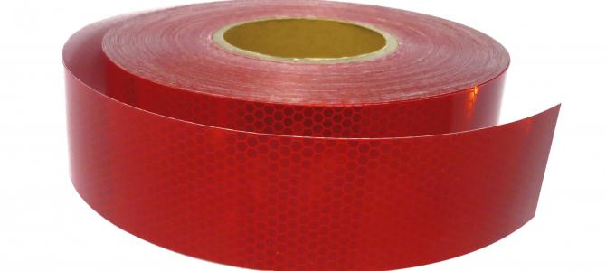 pasang reflective tape pada mobil anda yang akan di kir