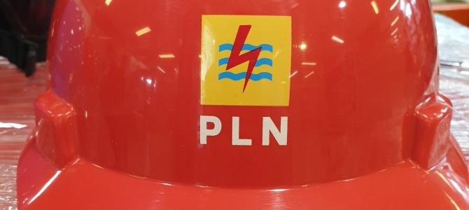 jasa cetak sablon logo perusahaan pada helm dan rompi