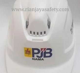 jasa pembuatan logo pada helm dan rompi