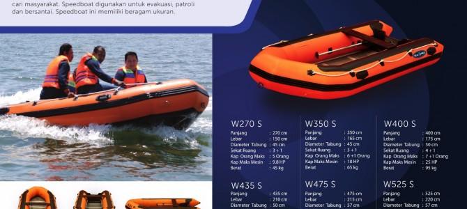 Jual perahu karet system hot welding untuk rescue banjir dan sar