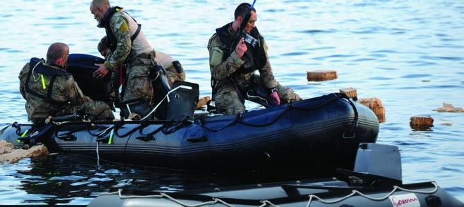 Jual perahu rescue TNI perairan lepas bahan hypalon