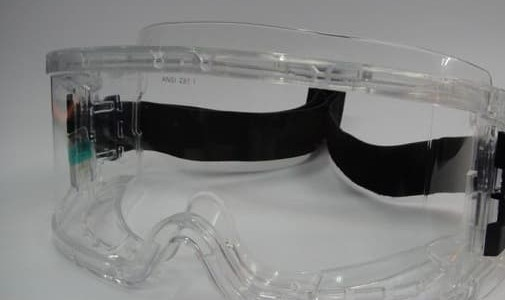 kacamata google anti virus corona